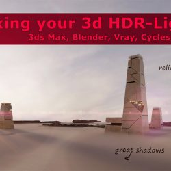How to sharpen the shadows on your HDRI's