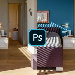 How to change wall colors in Photoshop