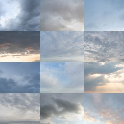 Free skies for compositing