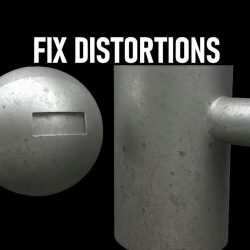 How to fix distortions with Conform in 3ds Max