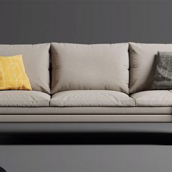 How to model a sofa from scratch in Blender