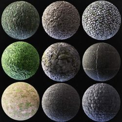 9 PBR photo-scanned materials to download for free