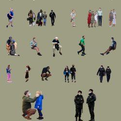 People Cutouts LXXVI