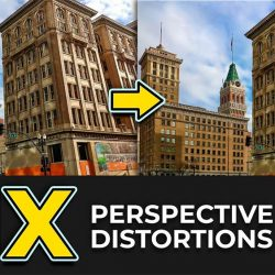 How to fix perspective distortion in Photoshop