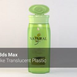 How to make translucent plastic with 3ds Max and V-Ray