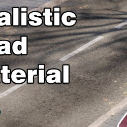 How to create realistic road material