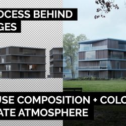 Composition and color in Archviz