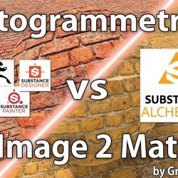 PBR materials from  photogrammetry vs single image