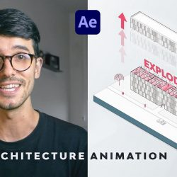 Animating an axonometric diagram with After Effects