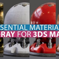 Realistic materials in V-Ray 5