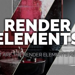What are render elements for?