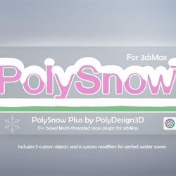 Scripts for 3ds Max   PolySnow Plus