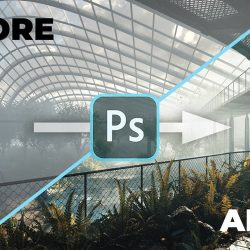 Post-production process for exterior images (Part 1)