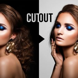 How to cut out dark hair from a dark background in Photoshop