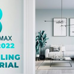 Modeling an apartment with 3ds Max 2022