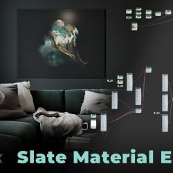 The Slate Material Editor in 3ds Max explained