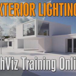 Evermotion ArchViz Training | V-Ray Exterior Lighting
