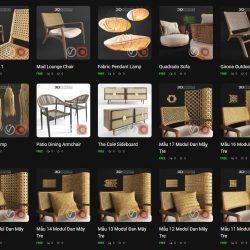 Free 3D Models DCXLIX | Mixed Objects