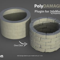 Scripts for 3ds Max | PolyDamage 1.5