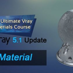 Creating realistic ice material in V-Ray