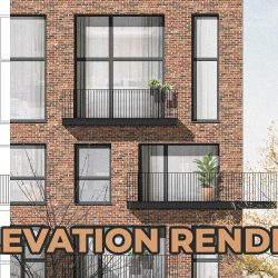 Architectural elevations using Photoshop