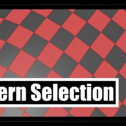 Pattern selection in 3ds Max